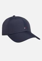 Tommy Hilfiger - Baseball cap tailored recycled nylon - tommy navy