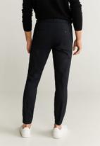 MANGO - Roma trousers - navy