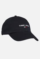 Tommy Hilfiger - Tommy jeans sport cap -  black iris