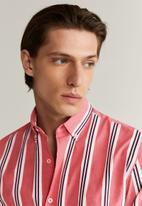 MANGO - Sitges shirt - red