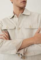 MANGO - Ueno jacket - beige