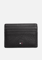 Tommy Hilfiger - Tommy hilfiger business credit card holder leather - black