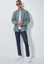 Superbalist - Barber regular fit long sleeve oxford shirt - blue