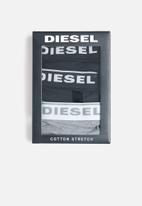Diesel  - Ufpn-oxy 3 pack g-string - black & grey