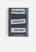 Diesel  - Ufpn-oxy 3 pack panties - black