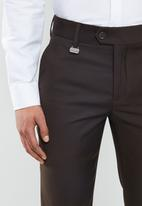 POLO - Bradley custom fit travel trouser - taupe