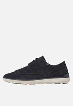 Tommy Hilfiger - Lightweight city suede shoe - navy