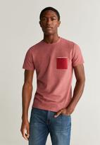 MANGO - Tomy6 T-shirt - red