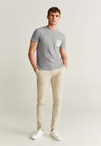 MANGO - Tomy6 T-shirt - grey