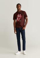 MANGO - Rolling T-shirt - red