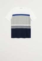 MANGO - Tokyo Knitwear Tee  - multi