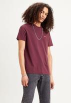 Levi's® - Short sleeve original hm tee - burgundy