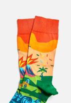 Happy Socks - Tropical island sock - multi