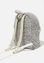 Rubi - Brazen backpack - black & cream