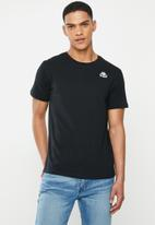 KAPPA - Authentic essor slim 907 tee - black