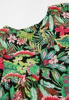 Superbalist Kids - Girls printed tiered dress - multi