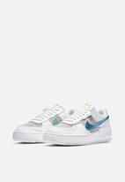 Nike - Air Force 1 Shadow - white / glacier ice-vast grey