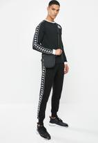 KAPPA - Auth dixon sweat - black & white