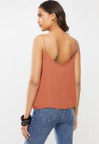 Cotton On - Astrid cami - dusty brown