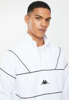 KAPPA - Authentic turny track top - white & black