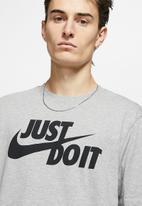 Nike - Just do it swoosh short sleeve tee - grey