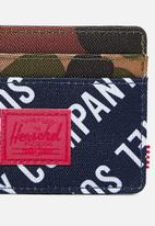 Herschel Supply Co. - Charlie - wallets - roll call peacoat/woodland camo