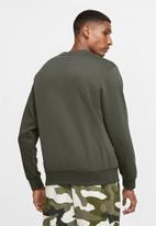 Nike - Nsw club crew sweatshirt - grey