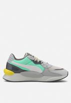 PUMA - RS 9.8 fresh - glacier gray / green glimmer