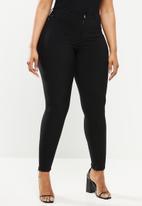 JUNAROSE - Plus masja nw slim jeans - black