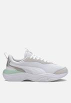 PUMA - Val - puma white-mist green-puma silver