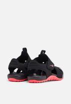 Nike - Girls nike sunray protect 2 (ps) - black & pink