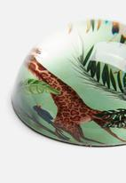 H&S - Glass paper weight - multi