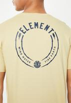 Element - Strike short sleeves tee - green