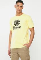 Element - Vertical short sleeve - yellow