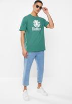 Element - Vertical short sleeve tee - green