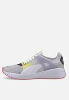 PUMA - Nuage run cage summer - puma white-purple heather-puma silver
