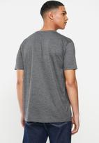 Element - Vertical short sleeve  tee - charcoal