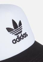 adidas Originals - Gorra adicolor trucker - black & white