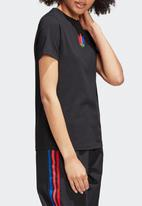 adidas Originals - 3D trefoil tee - black/multi