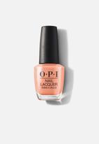 OPI - Nail Lacquer - Coral-ing Your Spirit Animal