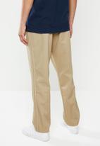 adidas Originals - Striped chino pant - beige