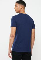 GUESS - Short sleeve guess california tee - blue