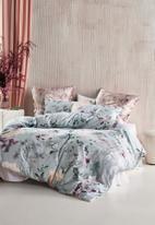 Linen House - Azalea duvet cover set - stillwater