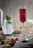 Luigi Bormioli - Jazz tall glass set of 4