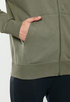 Nike - Nsw club full zip hoodie - khaki
