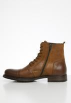 Jack & Jones - Russel leather - brown