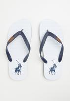 POLO - Leo flip flop - navy & white