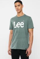 Lee  - Classic logo tee - green