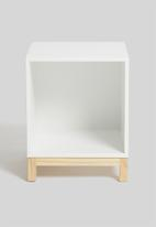 Blockhouse - Hugo side table - white