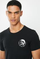 Diesel  - Randal short sleeve 3 pack tees - black